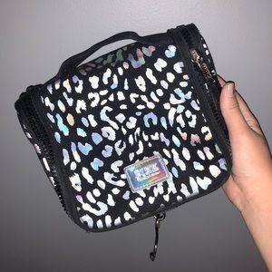 PINK organizer/ makeup bag